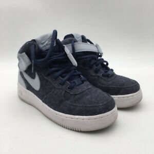 air force 1 grises mid