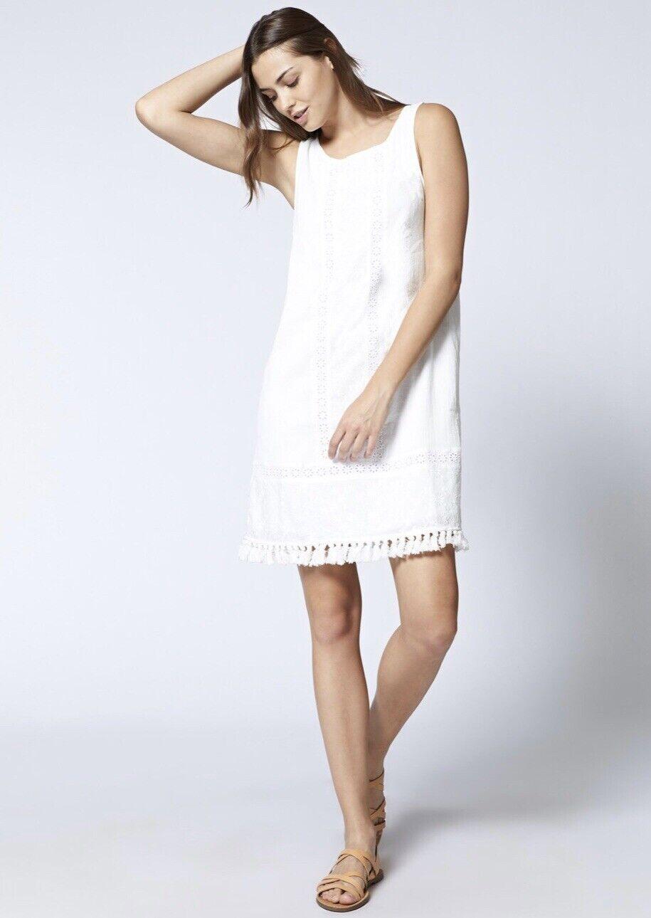 854727e8b9228 SANCTUARY ALICIA BOHEME SPRING COLLECTION DRESS IN WHITE SIZE S NWT MSRP