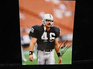 Todd-Christensen-Oakland-Raiders-autographed-8x10-photo-photo-2