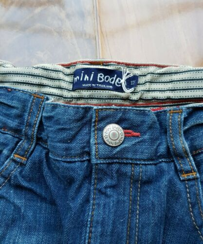 Mid Vintage WITH ADJUSTABLE WAISTBAND B0679 NEW MINI Boden BOYS Straight Jeans