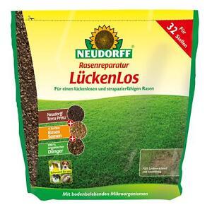 NEUDORFF-Rasenreparatur-Lueckenlos-2-5kg-Nachsaat-Luecken-Rasensamen-Samen-Rasen