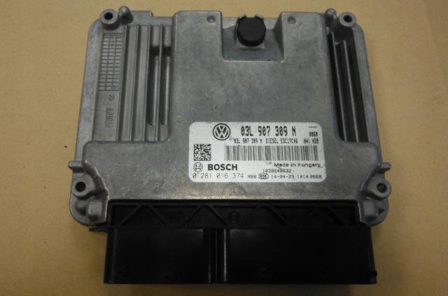 VW Passat cc Touran Tiguan ECU Motor Control EDC17C46 03L907309N 0281016374