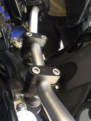 Honda CBF500 HANDLEBAR BAR RISERS 25MM