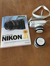 Nikon 1 J1 10.1MP Digital Camera - White (Kit w/ VR 10-30mm and VR 30-110mm Lenses)