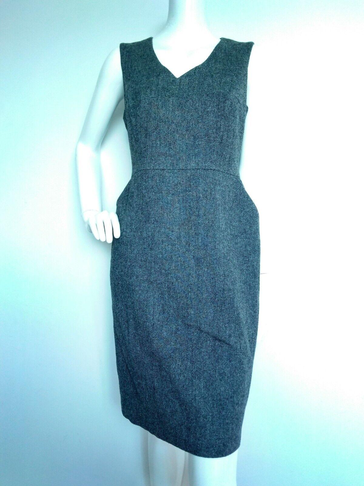 LK BENNETT Freida shift dress size 12 --BRAND NEW-100%Lambswool NEW-100%Lambswool NEW-100%Lambswool knee length 3a6b34