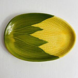 Shawnee-Pottery-Corn-King-10-034-Dinner-Plate-68-Dinnerware-1946-1954-EUC-Vintage