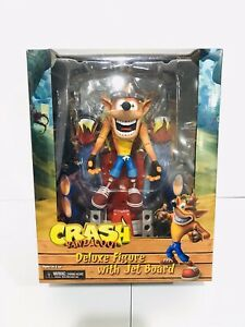 "7/"" scale deluxe figure Neca Crash Bandicoot with Jet Pack LOOSE NO PACKAGING"