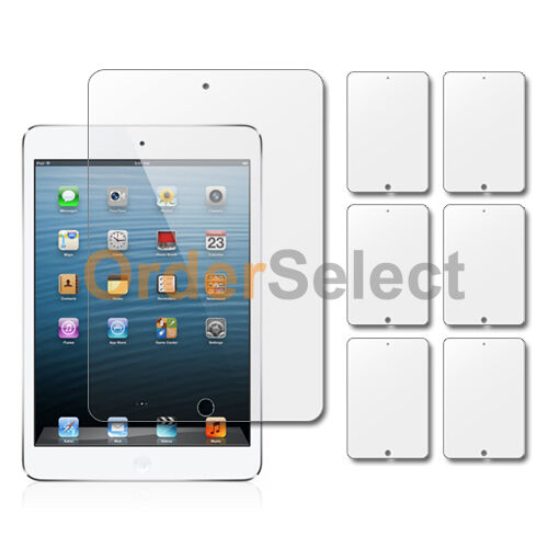 "1 3 6 10 Lot LCD Ultra Clear HD Screen Protector for Apple iPad Mini Tab 7.9/"""