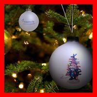 Travelocity Roaming Gnome Glass Ball Ornament Holiday Tree Decoration