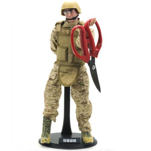 10Pcs 1//6 Scale Action Figure Stand Display Base Titulaire U Type pour de