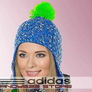 2809fa9c5dc3a Image is loading adidas-Outdoor-Performance-Womens-Beanie-Hat-Knit-Fleece-