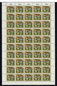 1963 BRD Mi.Nr. 408 kompletter Bogen postfrisch Formnummer 2