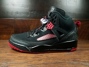 183ed36091 AIR JORDAN SPIZIKE  315371-006  BRED (Black Anthracite-Gym Red) MENS ...