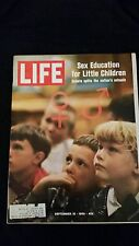 LIFE Sept. 19, 1969 VG Condition