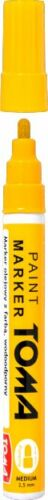 Permanent YELLOW Oil Based Paint Pen Car Bike Tyre Metal Marker waterproof