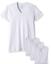 thumbnail 1 - 2-X-IST-Men-039-s-Essential-Cotton-Slim-Fit-V-Neck-T-Shirt-Pack-of-3-Size-XL-White