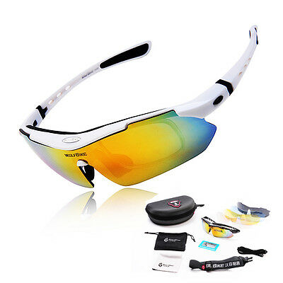 2016 Polarized Cycling Glasses Eyewear Bike Goggles Fishing Sunglasses UV400