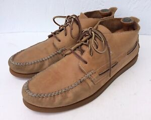 Sperry Top-Sider Tan Leather Moc Toe