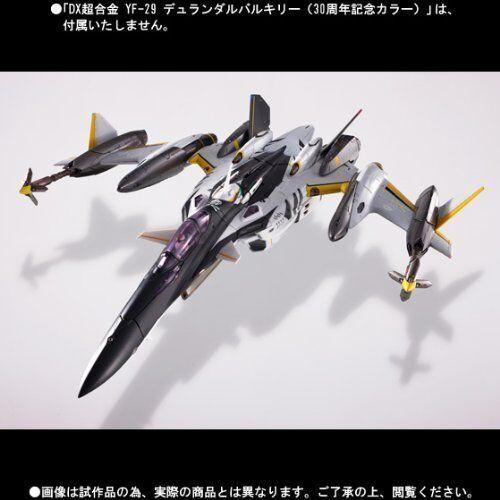 Macross F - Dx Cogokin Yf-29 Durandal Valkyrie 30 Aniv. color Súper Partes Se