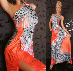 Women-039-s-Long-Maxi-Dress-Multi-Color-Dress-Cocktail-Party-Leo-Dress-HOT-8-10-12