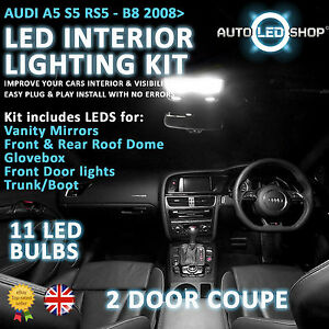 Audi a5 lights upgrade