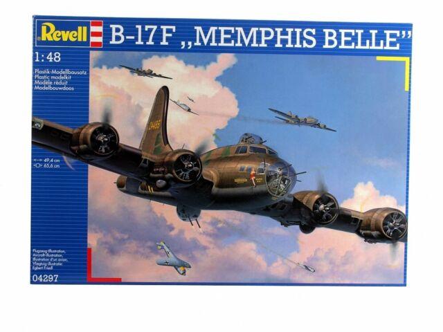 (RV04297) - Revell 1:48 - B-17F Memphis Belle