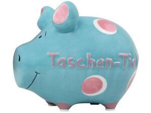 Taschentick-Hucha-Hucha-12cm-Motivo-Money-Cerdo-Pequeno-Ceramica