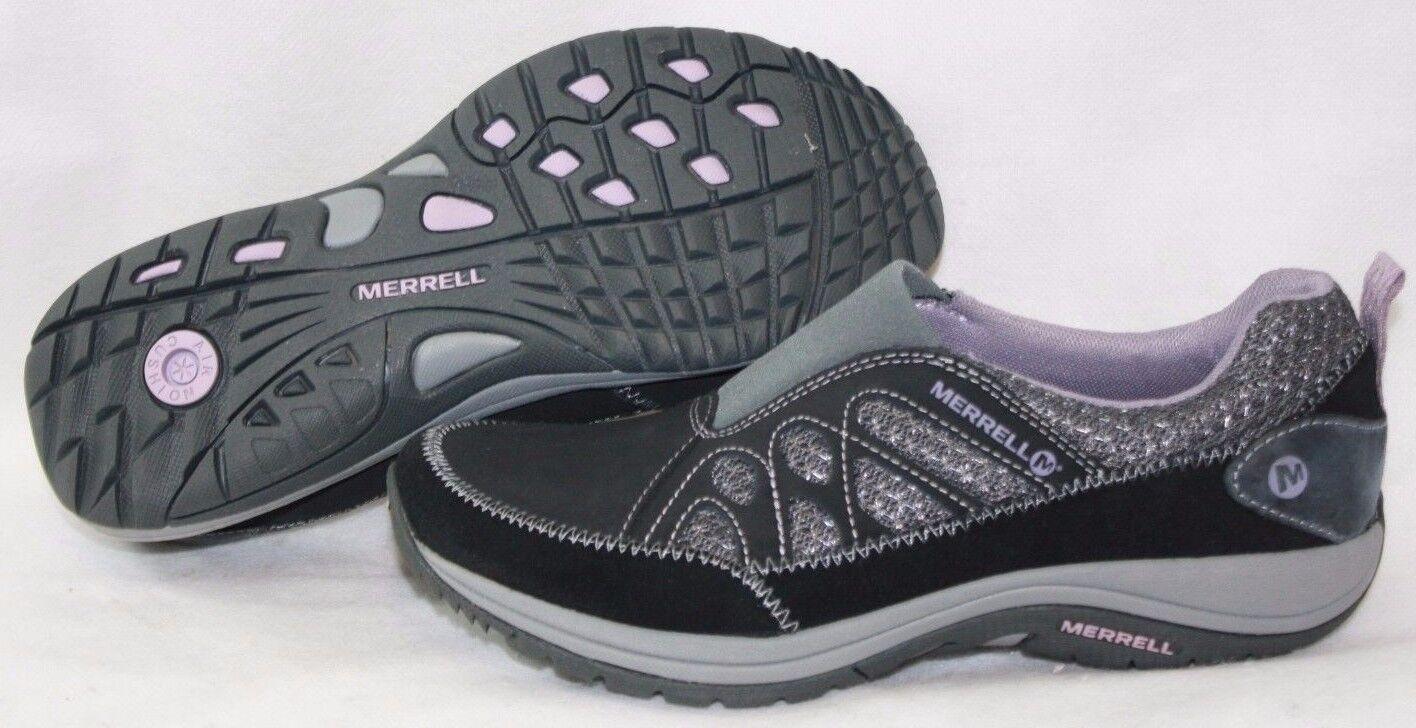 NEW mujer MERRELL Andean Moc J227408C negro Sea Fog púrpura zapatillas zapatos