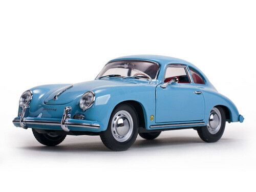 Porsche 356 A 1500 GS Carrera GT bleu 1957 1 18 Sunstar 1329     Sale
