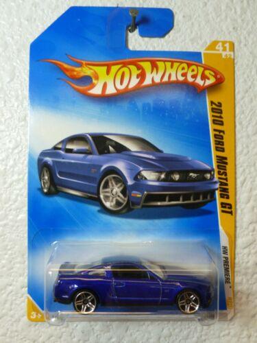 Purple Metallic 2009 NEW MODELS Hot Wheels 2010 FORD MUSTANG GT #041