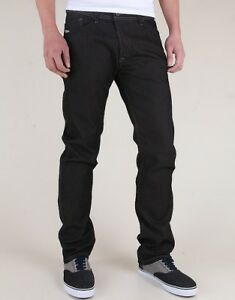 Rrp-169-NUOVO-DIESEL-Uomo-Jeans-Darron-0800W-Regular-Slim-Tapered-Stretch