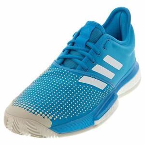 Dettagli su adidas Men's SoleCourt Boost M Clay DB2690 Tennis Shoe 7 US