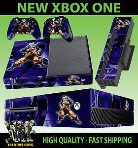 Audacieux Xbox One Console Autocollant Wolverine Logan X Men Mutant Skin & 2 Pad Skin