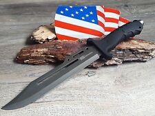 Buschmesser Messer Knife Bowie Jagdmesser Coltello Cuchillo Couteau Hunting Neu