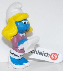 20770-Manager-Smurfette-Figurine-from-2015-Office-Set-Plastic-Miniature-Figure