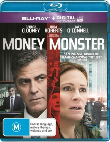 1 of 1 - Money Monster (Blu-ray, 2016)