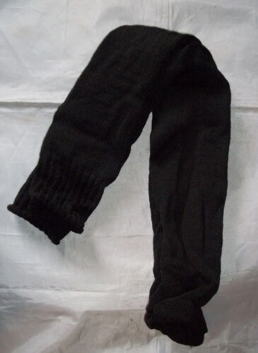 "Wool Over the Knee Long Socks - Black /""NEW/"" - Winter-Colonial-Reenacting"
