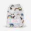 Personalised Sleepy Panda /& Rainbows Kids Drawstring Bag PE Swimming School Bag