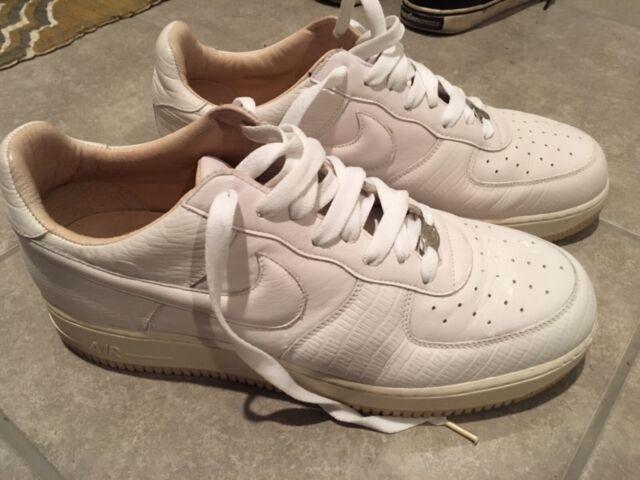 Nike Size 5 1 Leather Lux 10 Air Rare Force Italian Authentic dBshrCxtQ