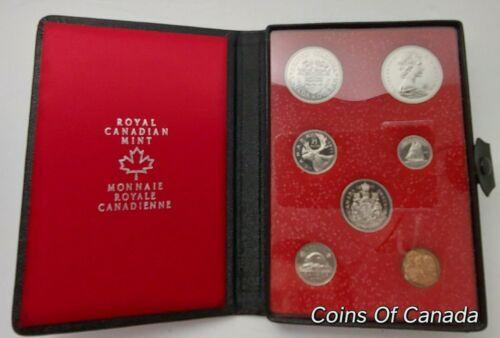#coinsofcanada 1971 Canada 7 Coin Prestige Double Dollar Specimen Set ORIGINAL