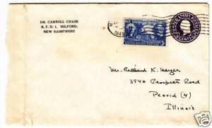 23 Letters Dr Carroll Chase To Meyer 3 Cent 1851 57 Stamps 10 11 25 26 Ebay