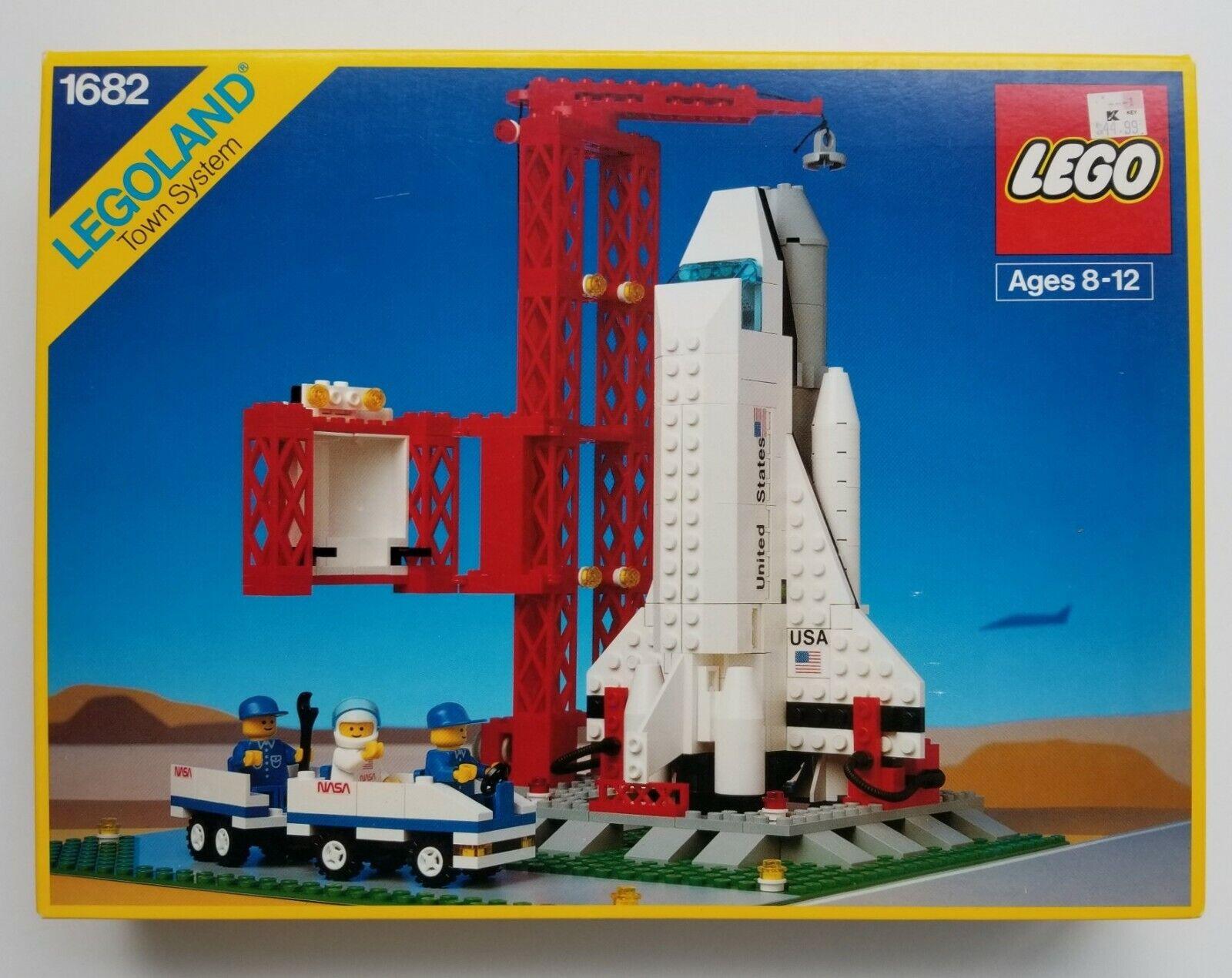 Lego 1682 Vintage SPACE SHUTTLE - 1990's - - - Brand New, NISB, NIB c6532a