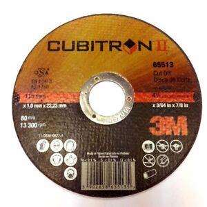 3M-Cubitron-II-Cut-Off-Disc-Wheel-115mm-X-1-0MM-X-22-23MM-1-x-SINGLE-DISC-65513
