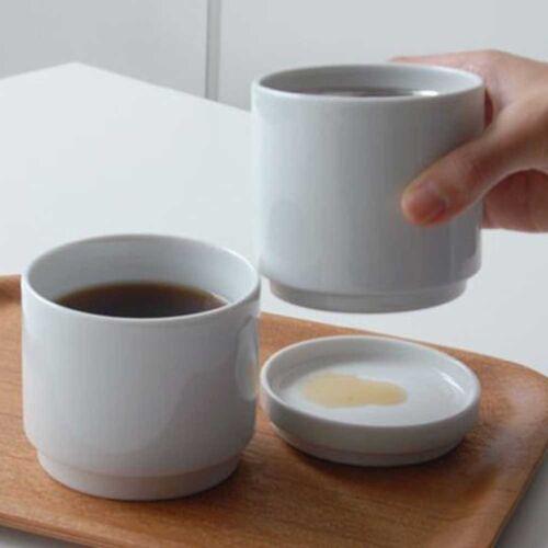 KINTO FARO Caffè VASCHETTA /& THERMOCUP Cup 230ml 7066 PORCELLANA BIANCA dal Giappone
