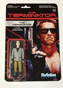 """TERMINATOR ONE TECH NOIR The Terminator 3 3//4/"""" Reaction Retro Action Figure 2014"""