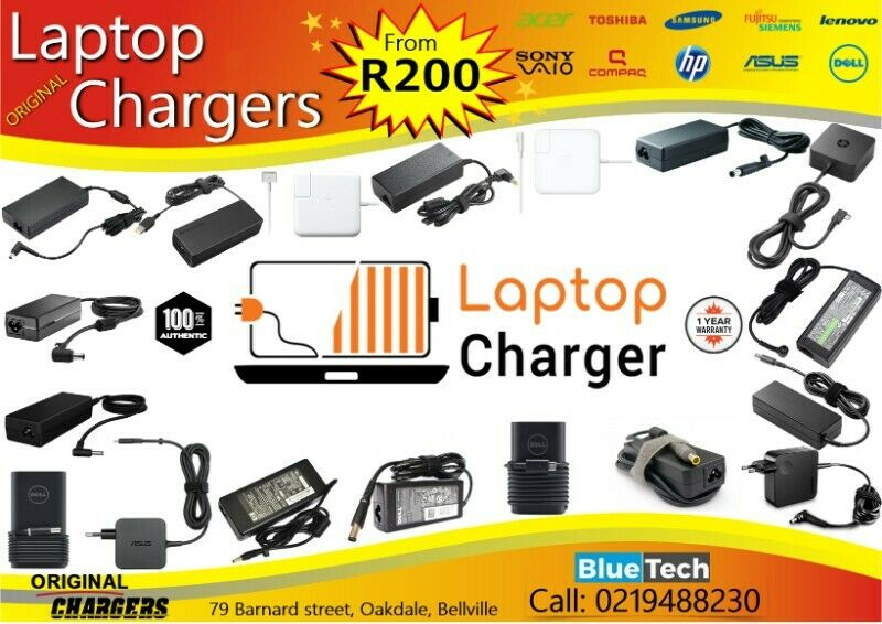 Lenovo  original laptop chargers - All Models - From R200