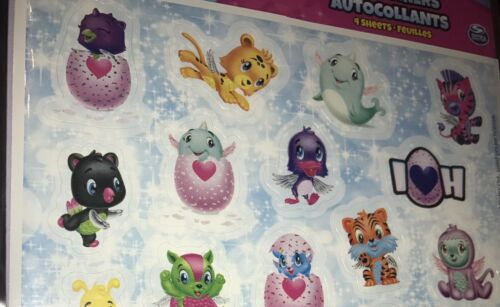 26 Hatchimals Colleggtibles Stickers Sheet Birthday Party Favor Supplies Draggle