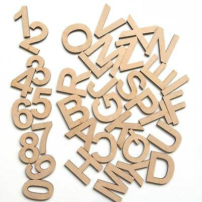 Affidabile I Singoli Mini Piccolo Arial In Legno Mdf Lettere Alfabeto Numeri Spessore 3mm-mostra Il Titolo Originale