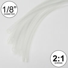 18 Id Clear Heat Shrink Tube 21 Ratio Wrap 6x9 4 Ft Inchfeetto 3mm