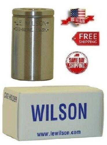 Fired or Resized # CH-6555  New! L.E.WILSON Case Holder for 6.5x55 NORMA New